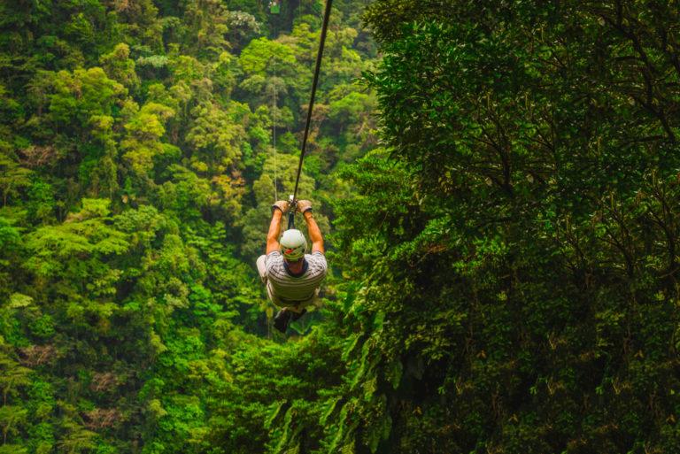 Jungle Zipline tours Costa Rica
