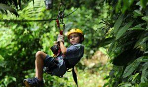 Belize Canopy Zip Line