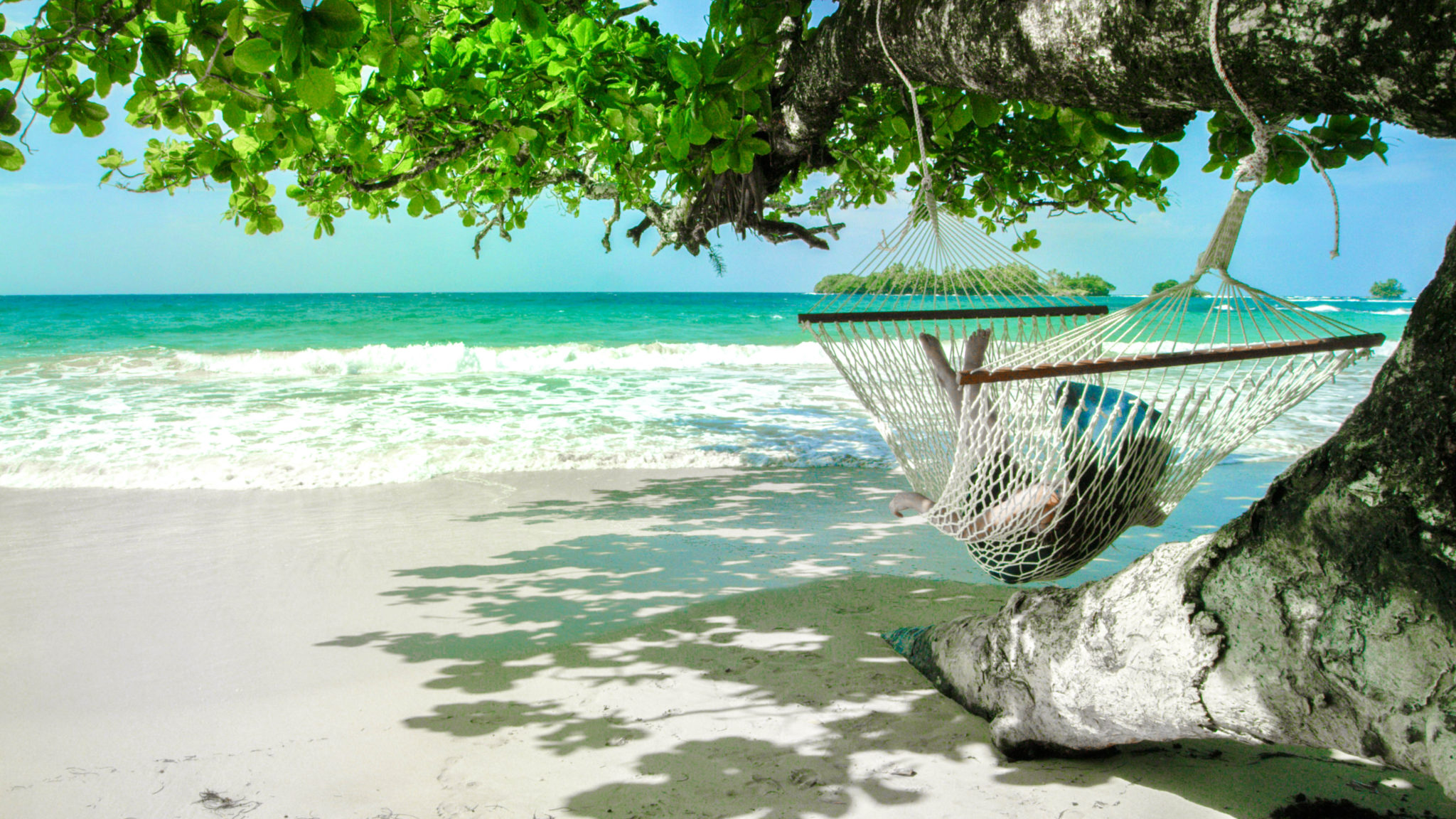 Hammock Beach in Panama