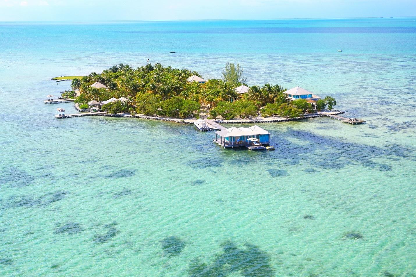 Belize private island honeymoon escapes