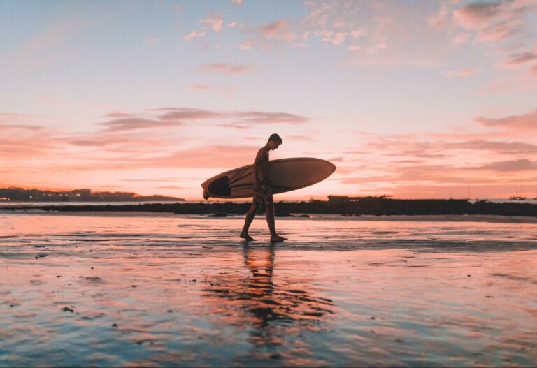 surf in the green season