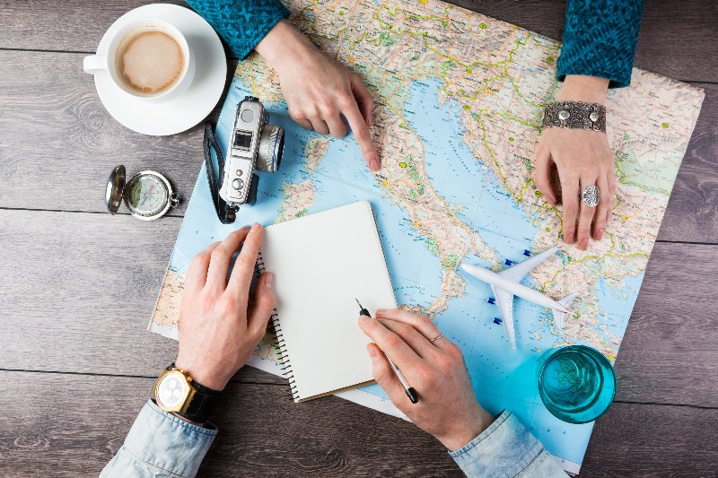 Travel agents help you through out your journey.