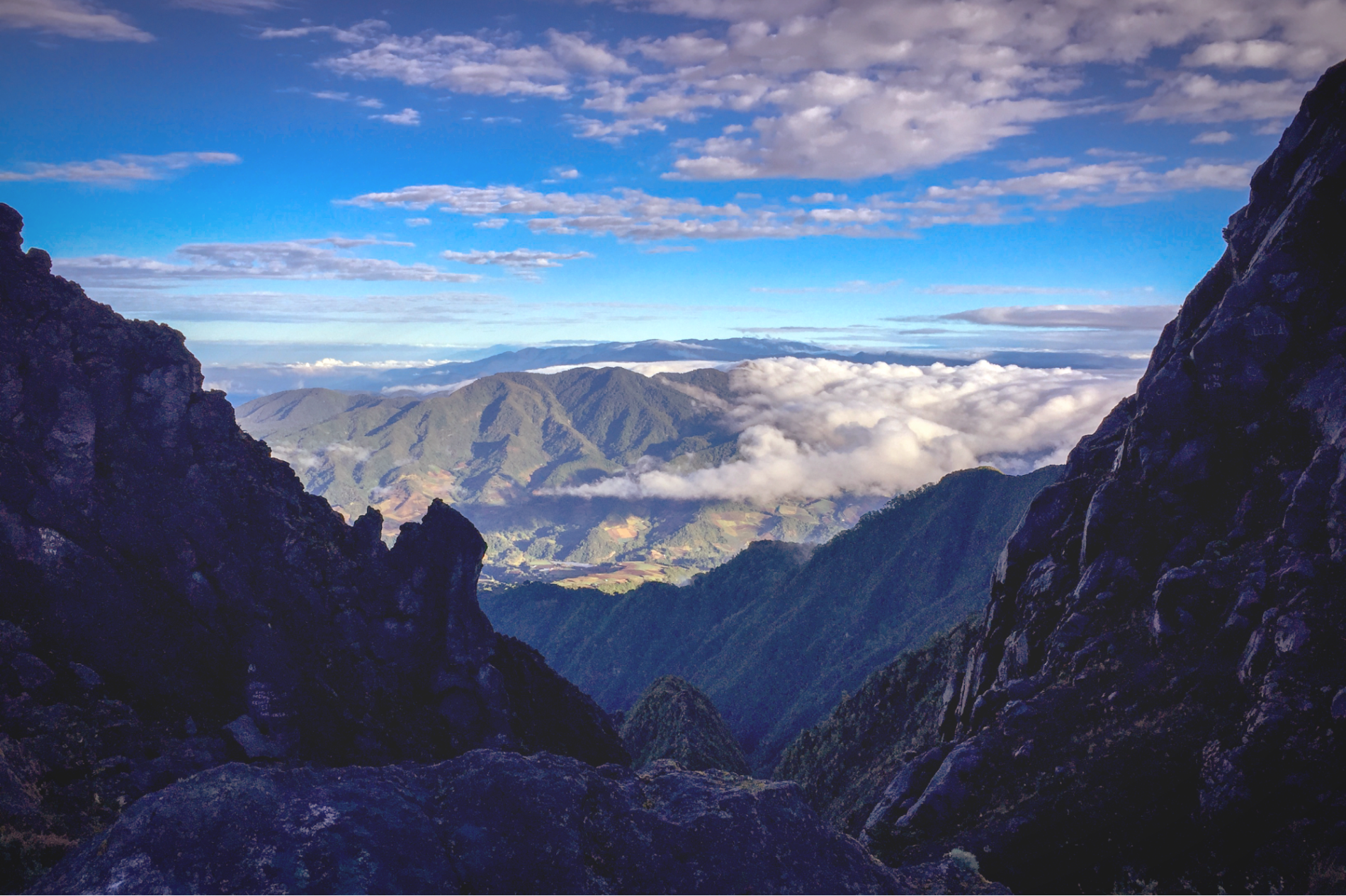 Atop of Baru Volcano in Chiriqui