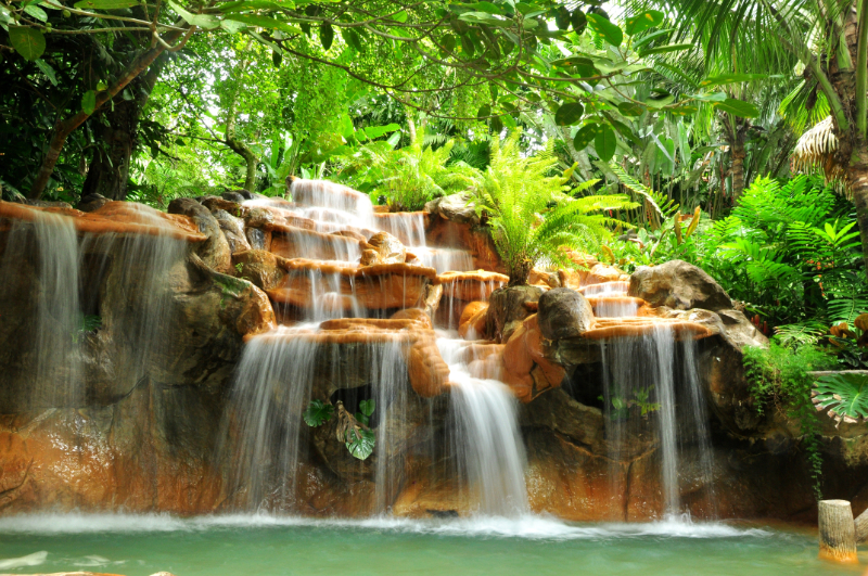 Limitless geothermal energy from natural hot springs