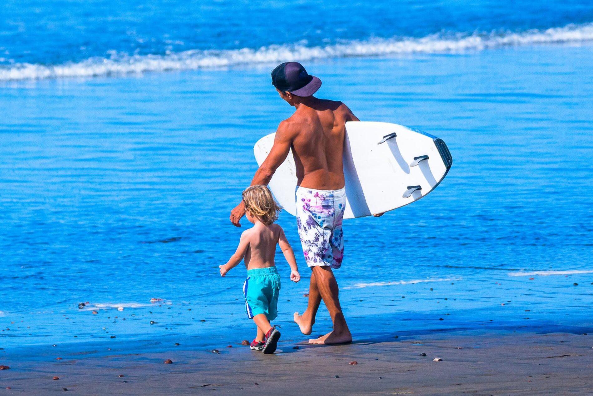 Learning to surf for the family in Costa Rica