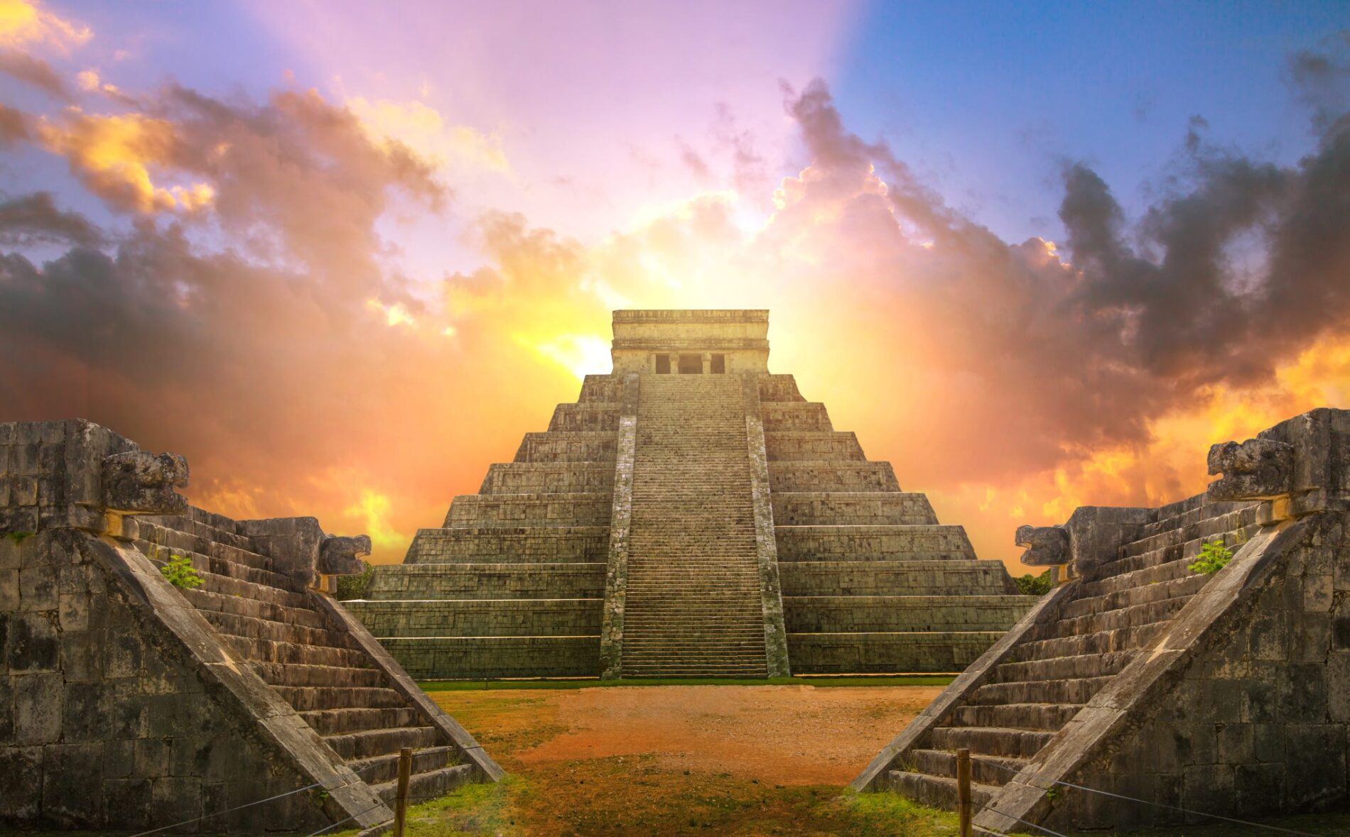 Mayan Pyramids Of Mexico